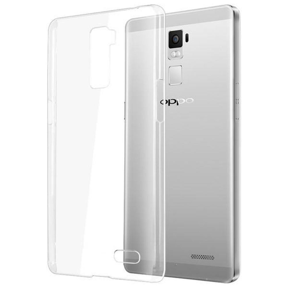 the best attitude e6325 41579 Transparent Back Case for Oppo R7 Plus