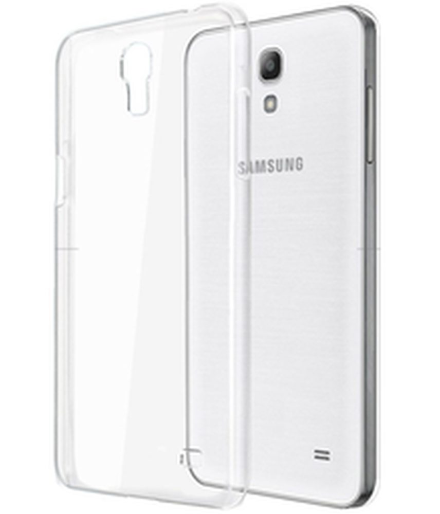 Transparent Back Case for Samsung Galaxy Grand Prime 4G