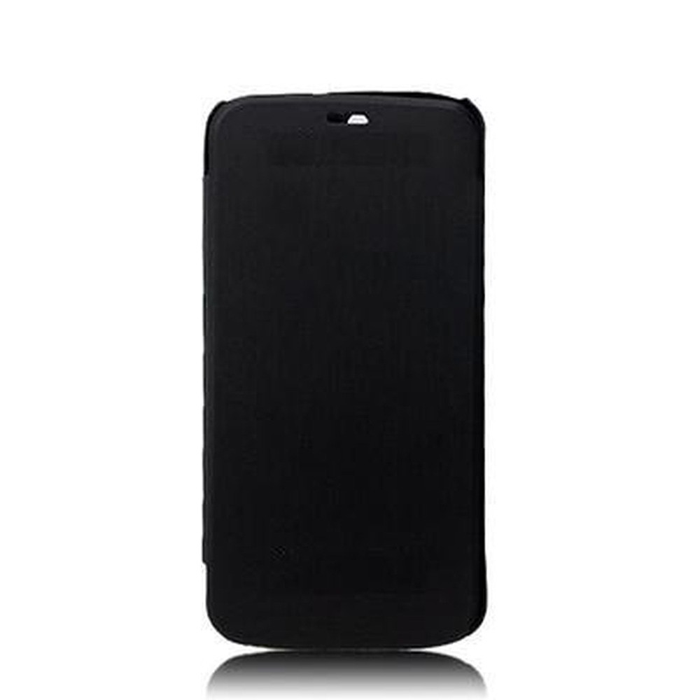 outlet store 4662b 48848 Flip Cover for Micromax Canvas Gold A300 - Black