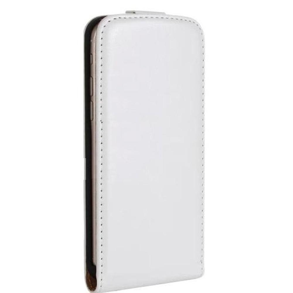 sale retailer c0259 c6d42 Flip Cover for Karbonn A8 Plus - White
