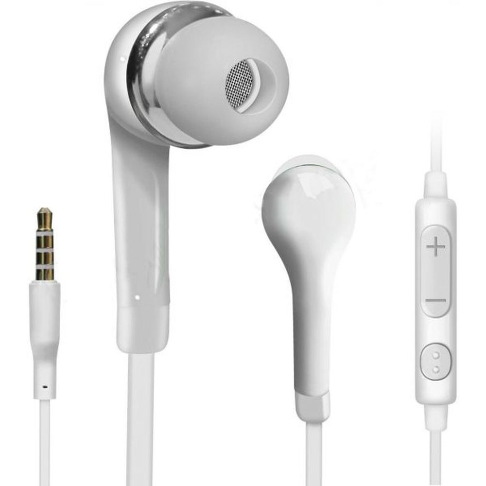 Cheap earbuds - white earbuds prime