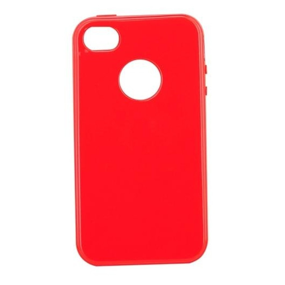 official photos ce0db 6a0b1 Back Case for Apple iPhone 4s Red