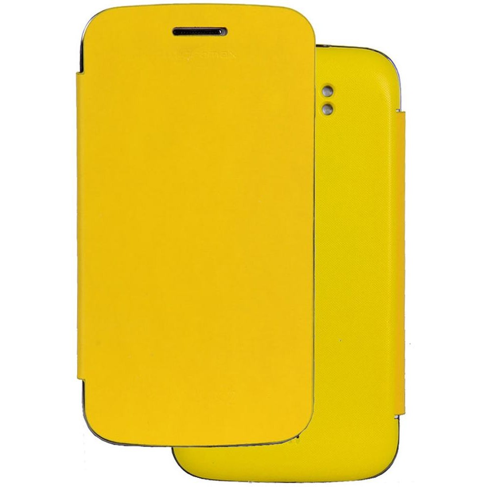 size 40 634bd 736f5 Flip Cover for Micromax A110Q Canvas 2 Plus Yellow