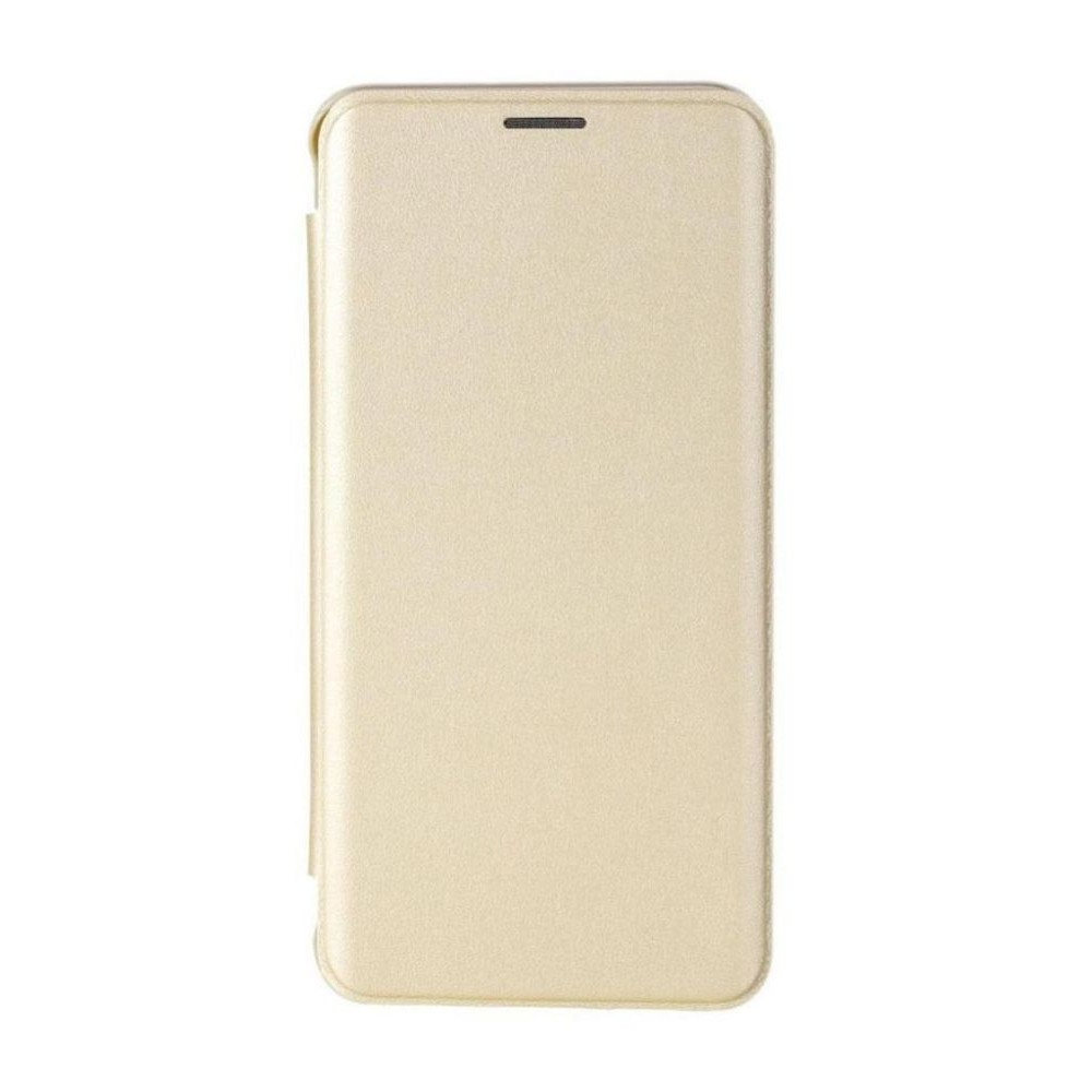 new product f4c34 839e4 Flip Cover for Samsung Galaxy J7 Prime - Gold