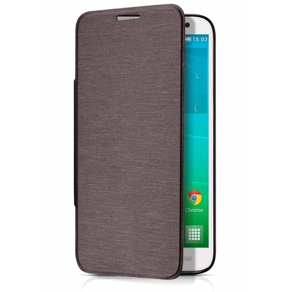 Flip Cover for Alcatel Idol 2 S - Chocolate