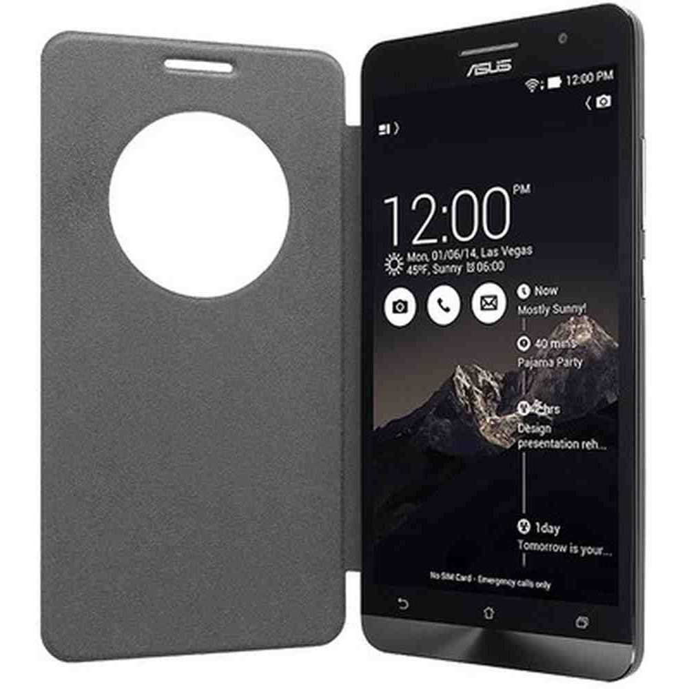 timeless design 86239 f5c12 Flip Cover for Asus Zenfone 6 A600CG - Grey
