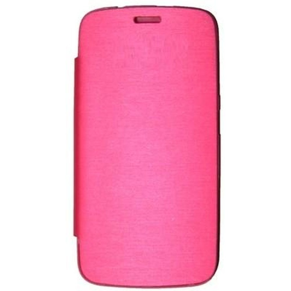 online store 73543 f9a19 Flip Cover for Gionee Elife E3 - Pink
