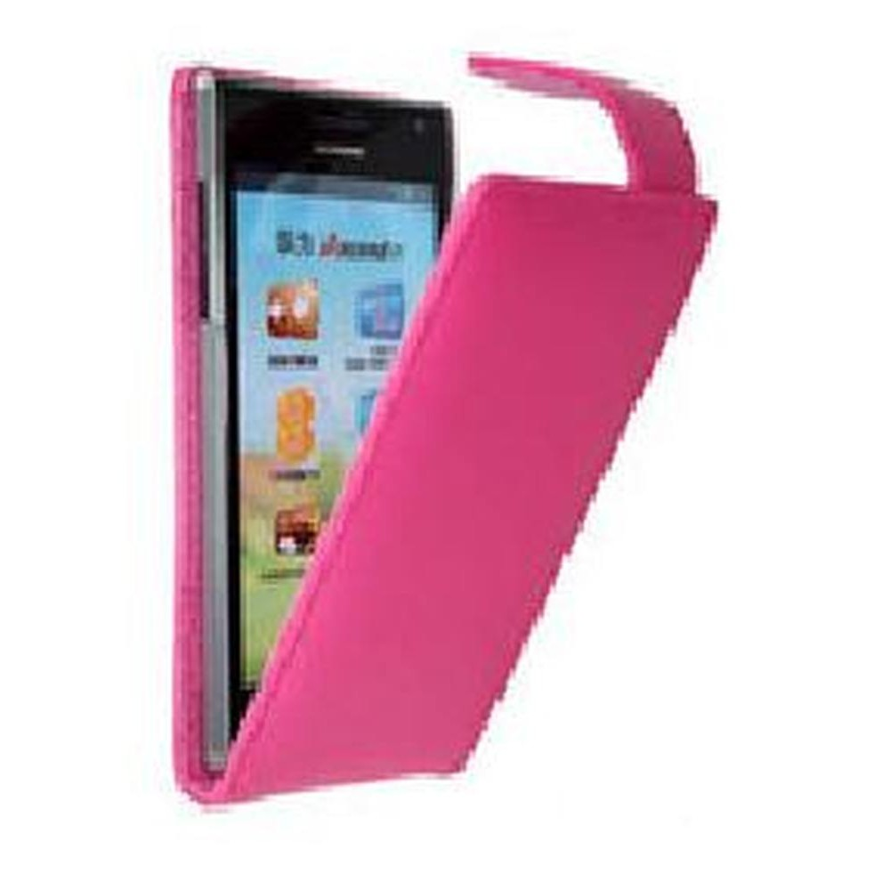 Flip Cover for Huawei Ascend P1 - Pink