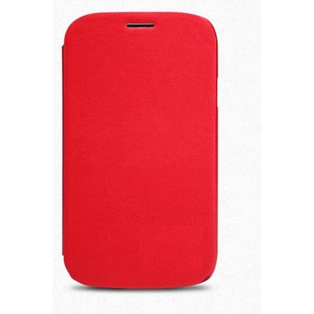 separation shoes a7eb0 cd26d Flip Cover for Lava Iris 360 Music - Red