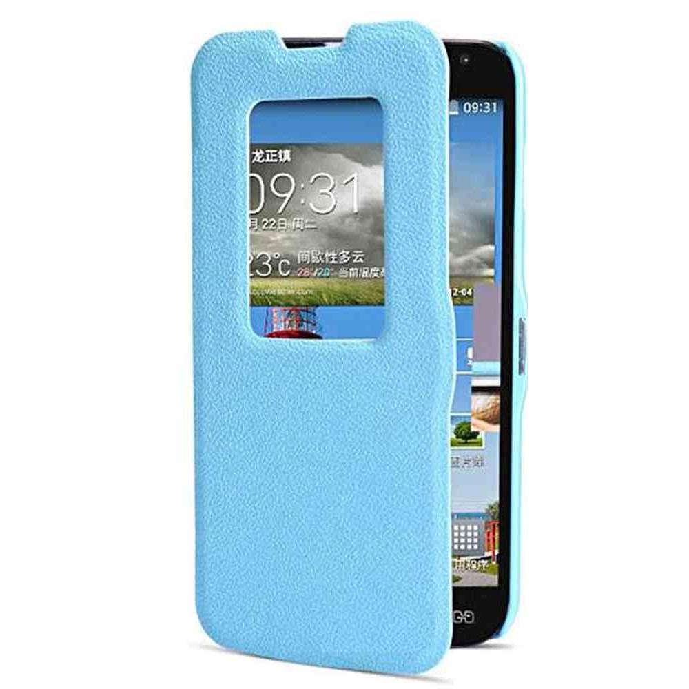 buy popular da72e 8211d Flip Cover for LG L90 Dual D410 - Blue