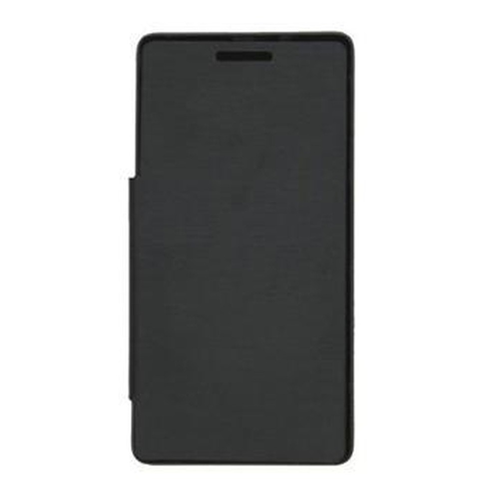 hot sale online 572b0 5e4ee Flip Cover for Micromax A102 Canvas Doodle 3 - Black