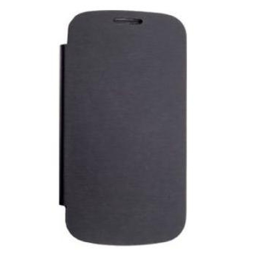 the best attitude dee77 7dd2b Flip Cover for Micromax A110Q Canvas 2 Plus - Black