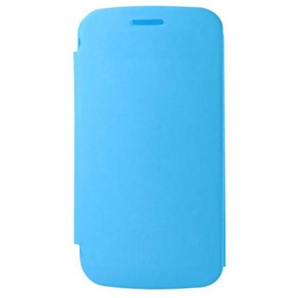 big sale f5851 a8d61 Flip Cover for Micromax A110Q Canvas 2 Plus - Blue