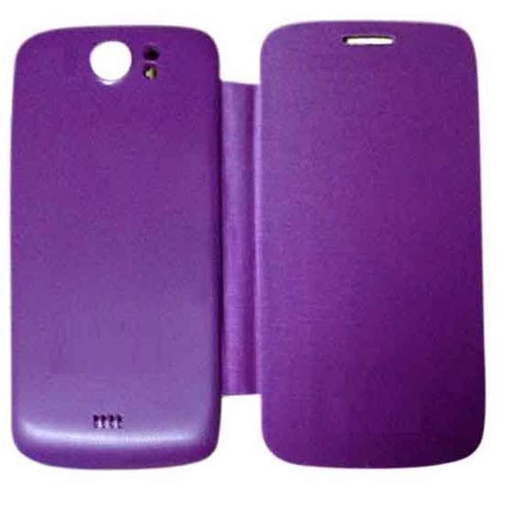 finest selection d8218 6924d Flip Cover for Micromax Canvas 2 A110 - Purple
