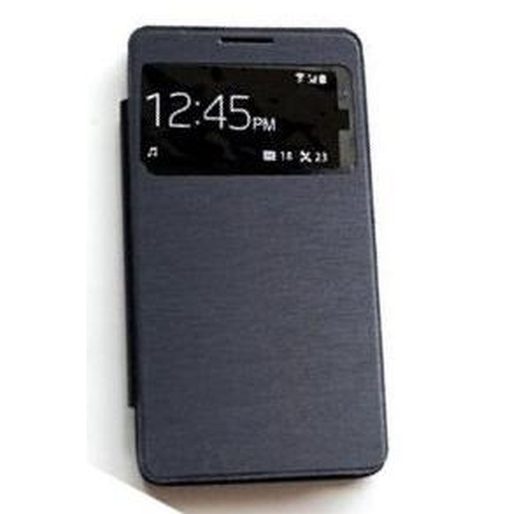 buy popular 790cb 5105d Flip Cover for Micromax Canvas Doodle 3 - Black