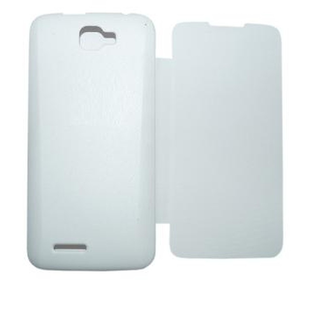 best website 6b52d 20098 Flip Cover for Micromax Canvas Nitro A310 - White