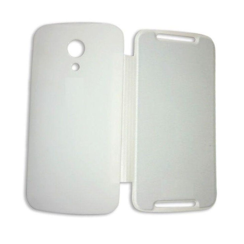 size 40 9f5e7 6da21 Flip Cover for Motorola New Moto G - 2nd Gen - White
