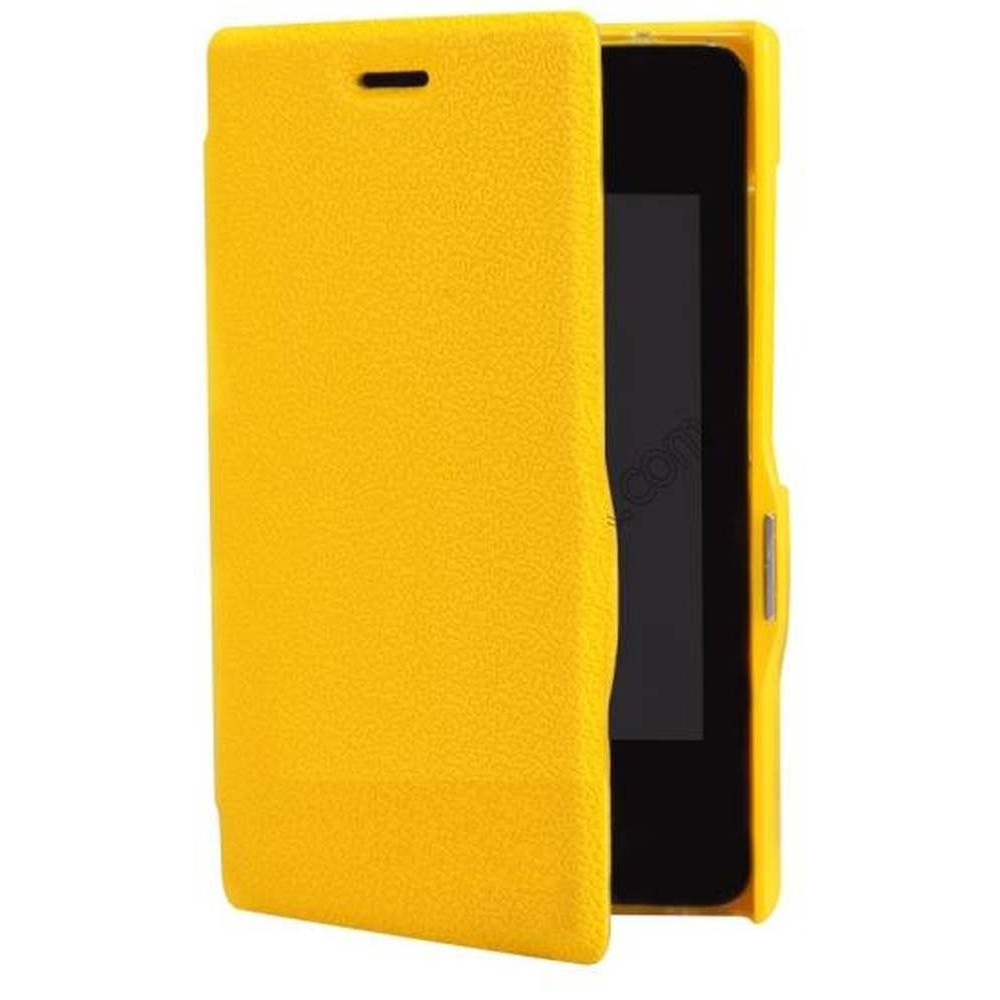 timeless design 88b91 1cdb6 Flip Cover for Nokia Asha 501 Dual Sim - Yellow