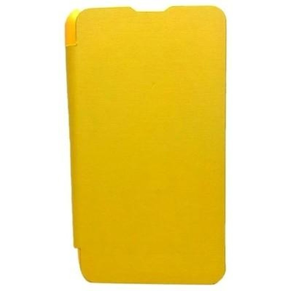 Flip Cover For Nokia X2 Dual Sim Yellow By