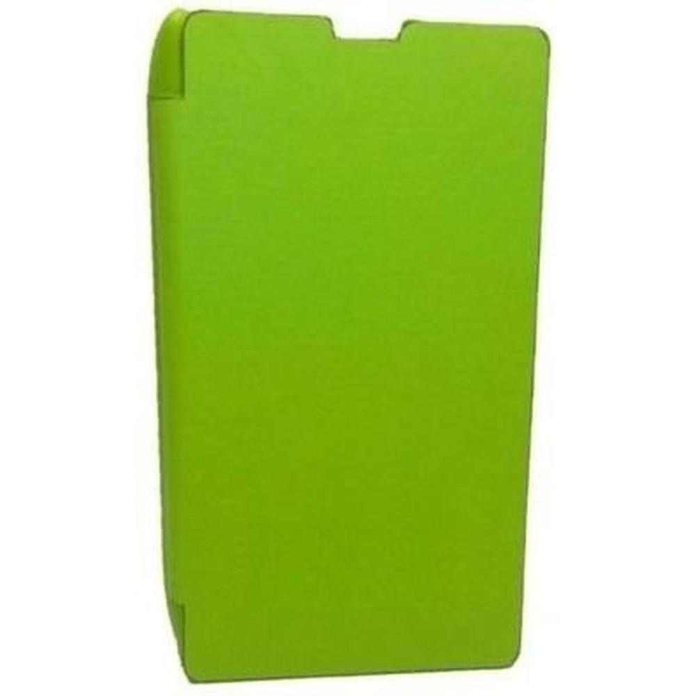 Flip Cover For Nokia Xl Dual Sim Rm 1030 1042 Bright Green Cyan