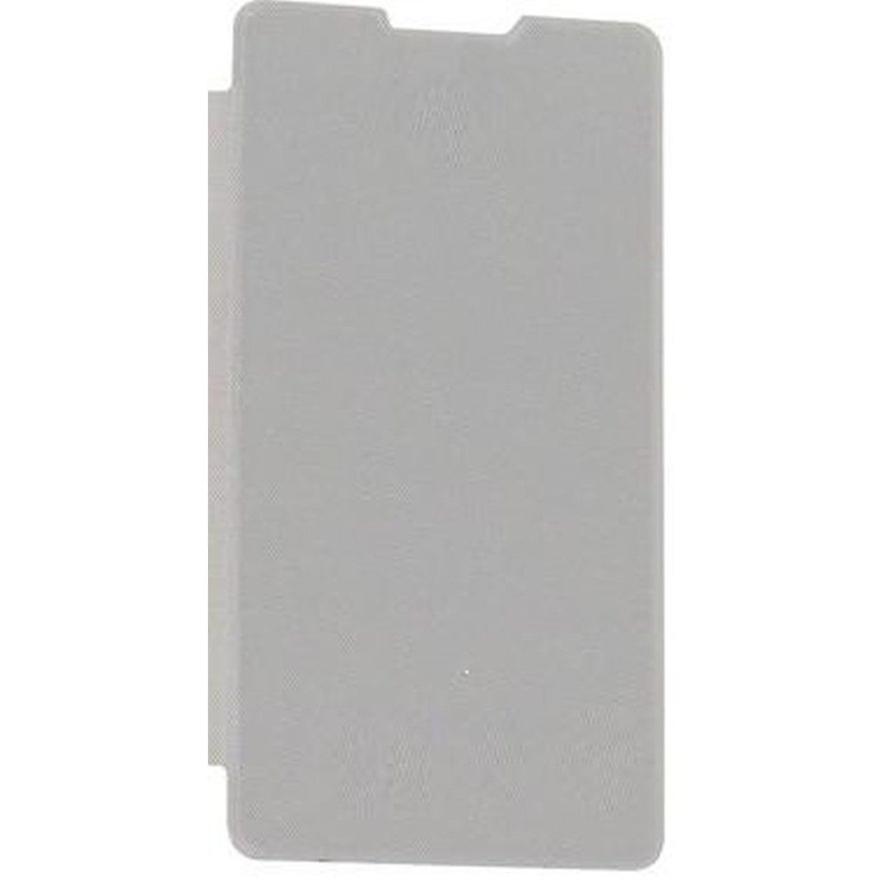 best sneakers f16ae a85a6 Flip Cover for Panasonic P81 - White