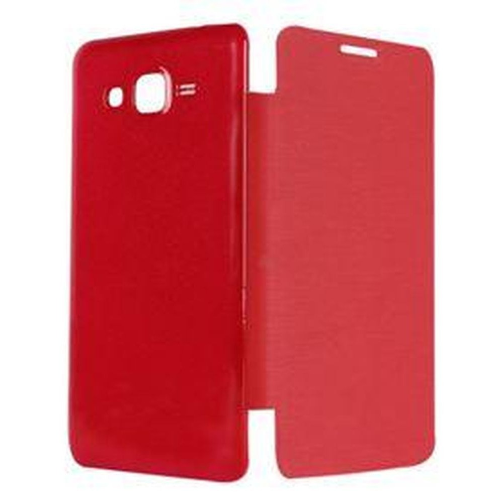 huge selection of cfeaf 2c5b3 Flip Cover for Samsung Galaxy Core Prime - Red
