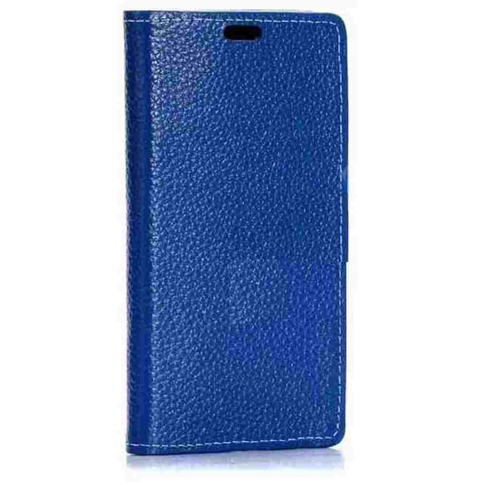 the best attitude 107c8 7df77 Flip Cover for Samsung Galaxy E5 SM-E500F - Blue