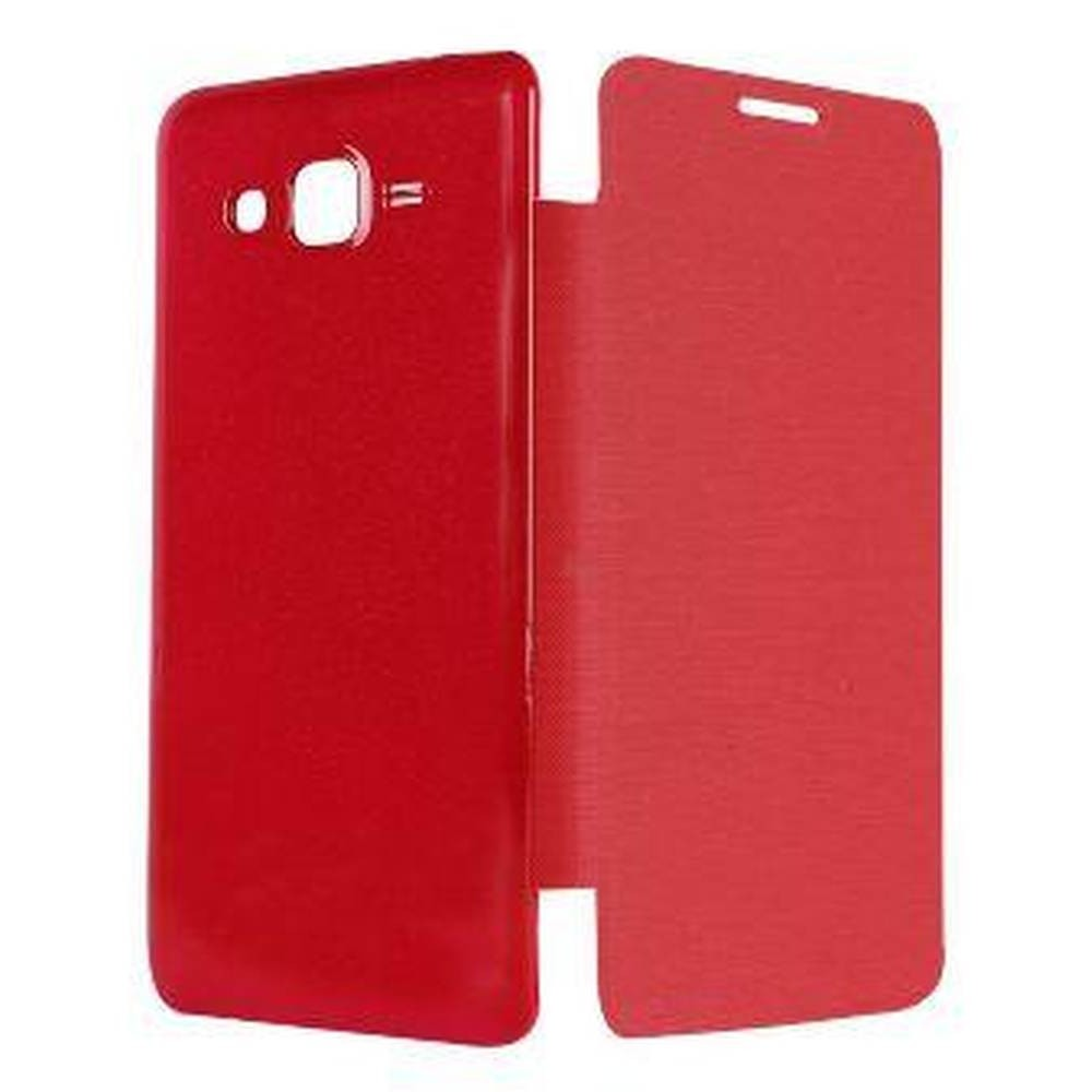 newest 4ddbf 64873 Flip Cover for Samsung Galaxy Grand Prime SM-G530H - Red