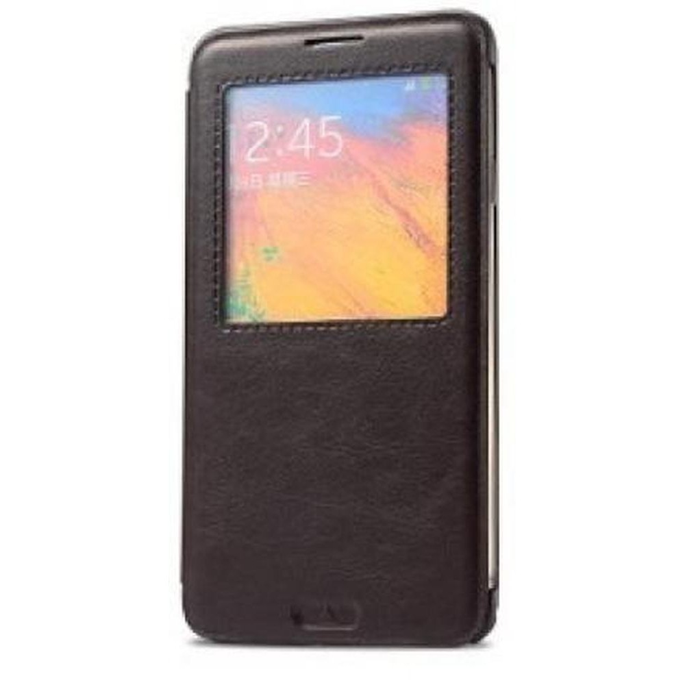 the best attitude a3d43 64c43 Flip Cover for Samsung GALAXY Note 3 Neo LTE Plus SM-N7505 - Black