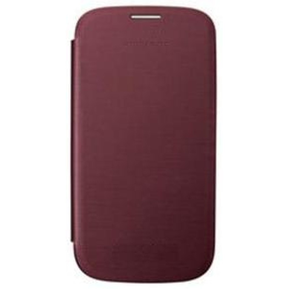Flip Cover For Samsung Galaxy S3 Red By Maxbhi Com