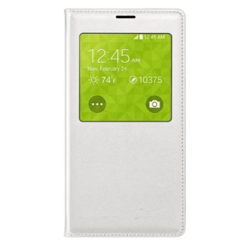best website 07fc3 46925 Flip Cover for Samsung Galaxy S5 Duos SM-G900FD - White