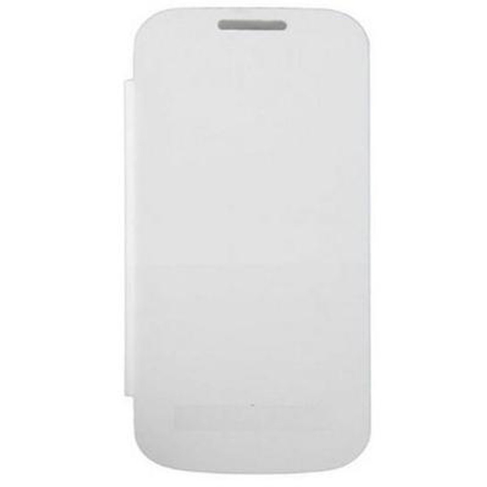 lowest price 2a071 4bc19 Flip Cover for Samsung I9192 Galaxy S4 mini with dual SIM - White by ...