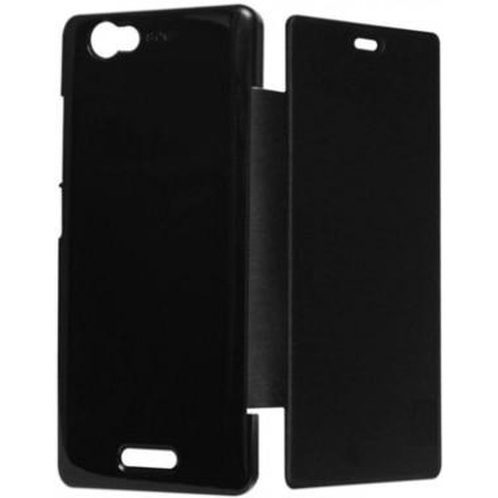 reputable site cefb8 8ab91 Flip Cover for Sony Xperia L C2104 - Black