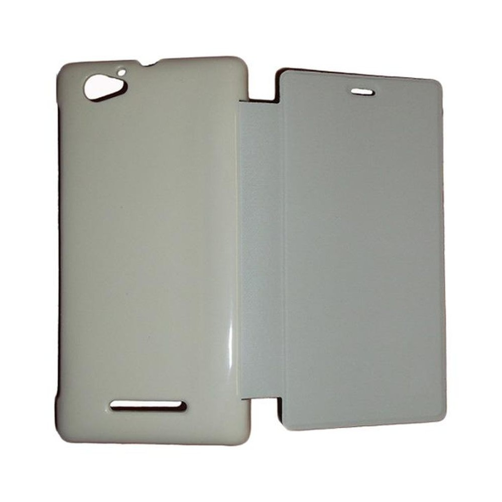 lowest price 351c5 6c43a Flip Cover for Sony Xperia M - White