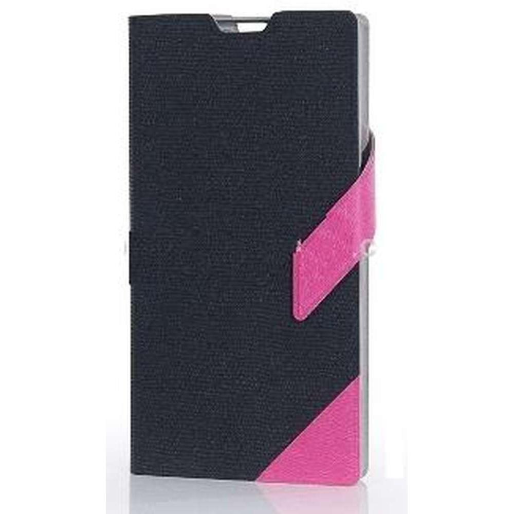 more photos e0ed6 2fd31 Flip Cover for Vivo Y28 - Black