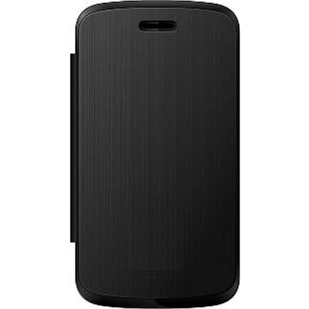 more photos 66f16 3b42f Flip Cover for Alcatel Pixi 3 - 3.5 - Firefox - Black