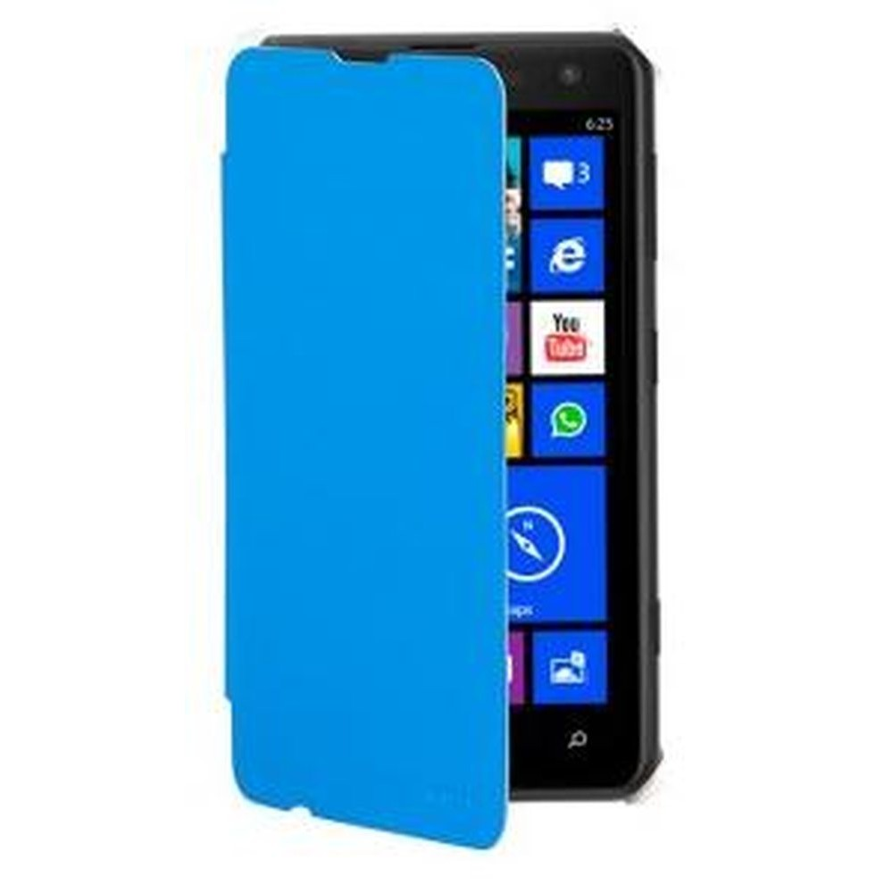 pretty nice 7c3fb 0dd63 Flip Cover for Nokia Lumia 625 - Blue