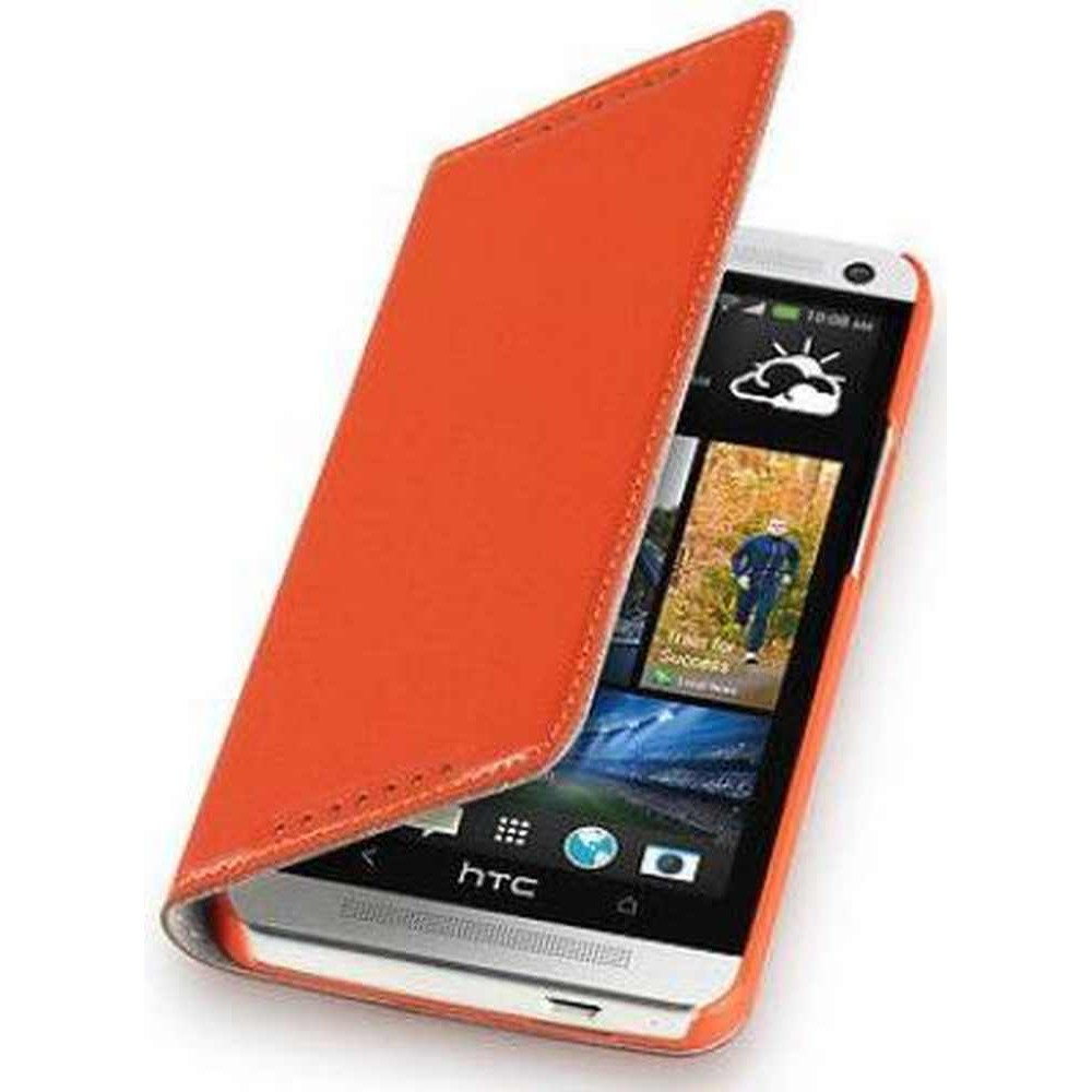 sports shoes 85957 afd4a Flip Cover for HTC One M7 - Orange