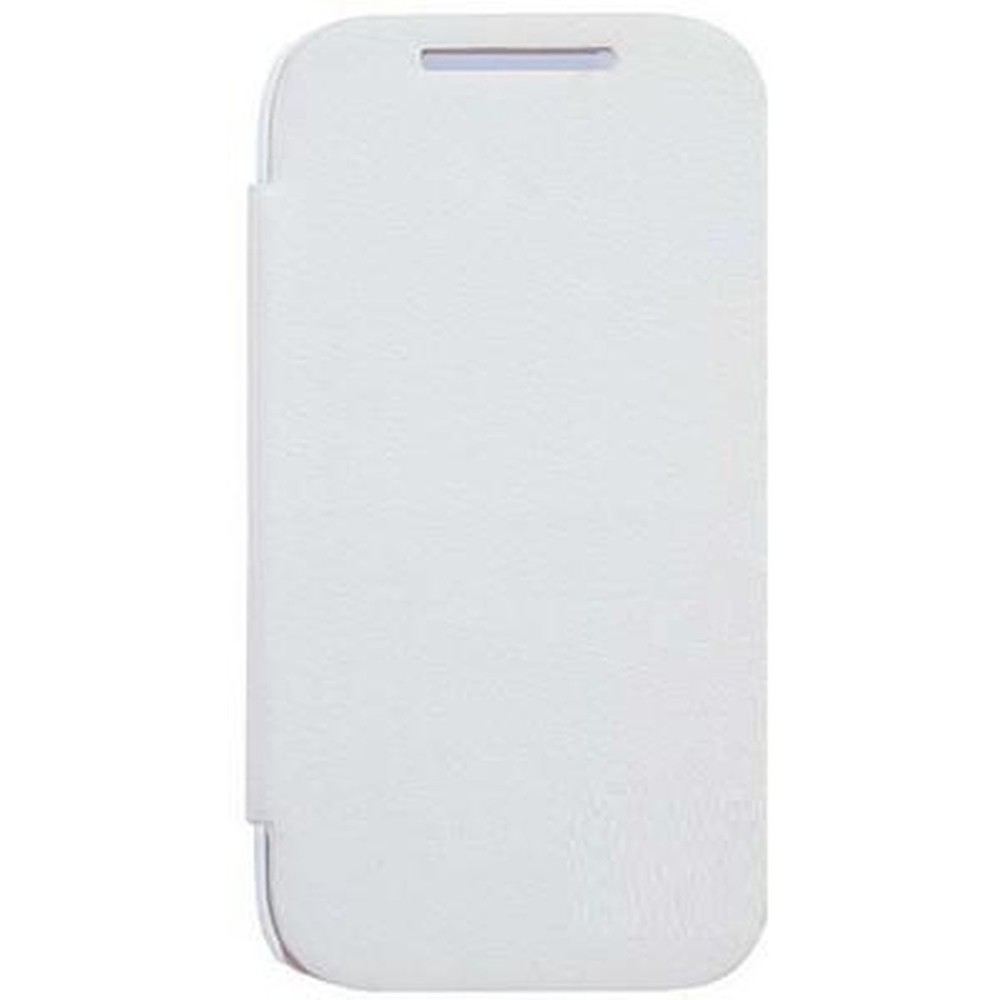 low priced 54297 56b88 Flip Cover for HTC Desire VC T328D - White