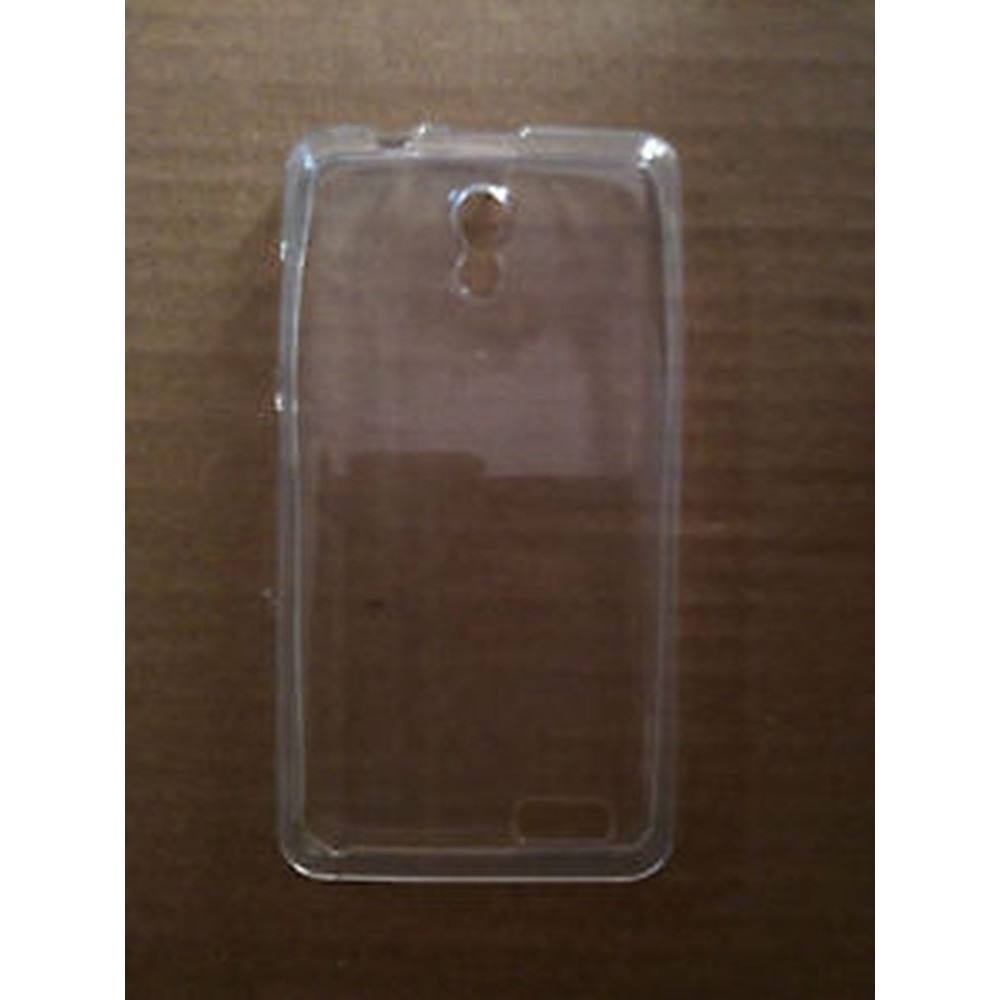 newest 0066b 541c9 Transparent Back Case for Lenovo A319