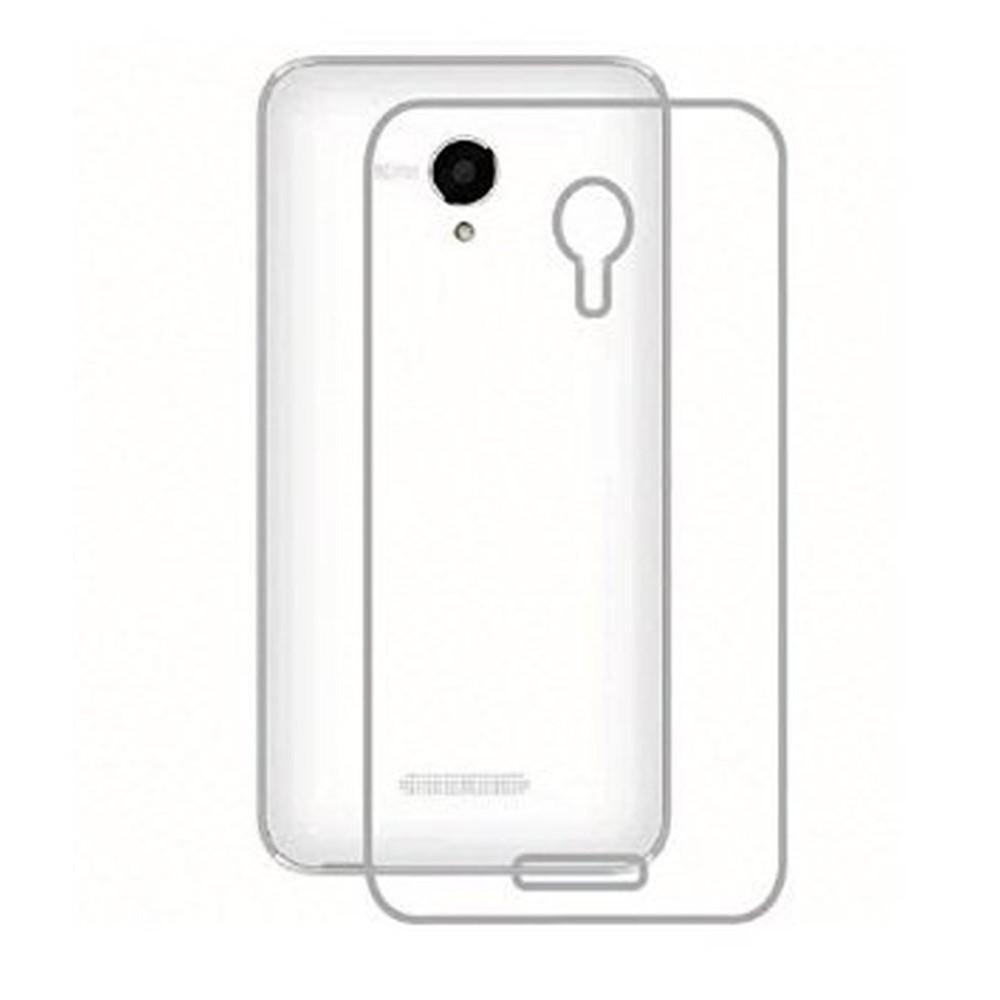 quality design a0c4f 56186 Transparent Back Case for Micromax A59 Bolt