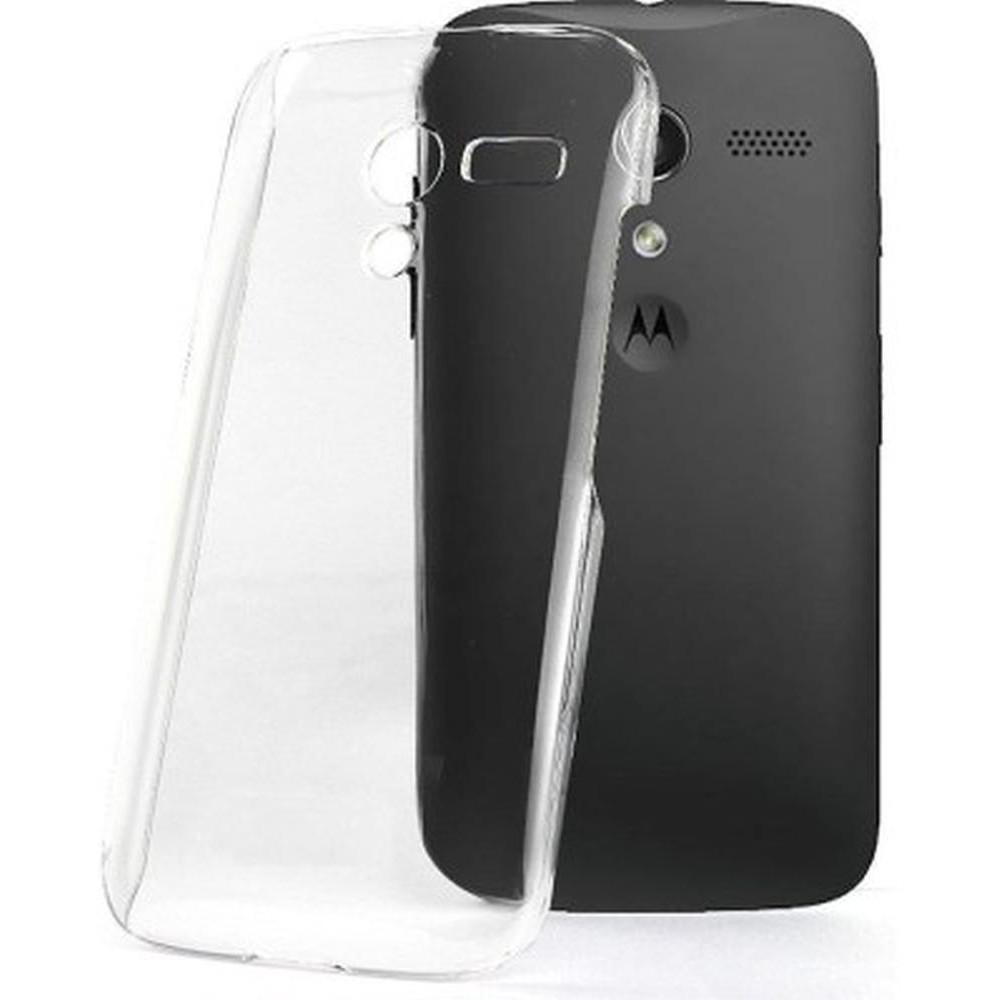 huge discount a65e5 80f19 Transparent Back Case for Motorola Moto X XT1058