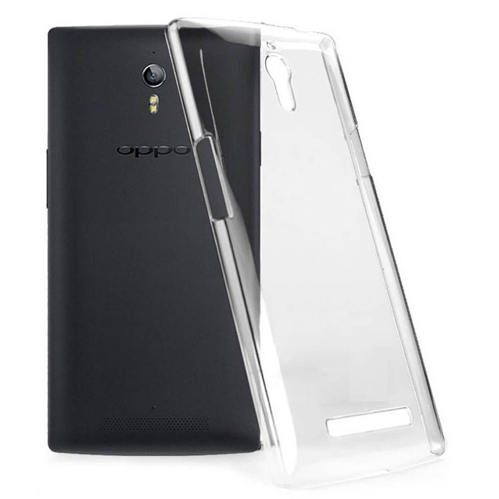 buy popular 2c7e8 5875f Transparent Back Case for Oppo Find 7a