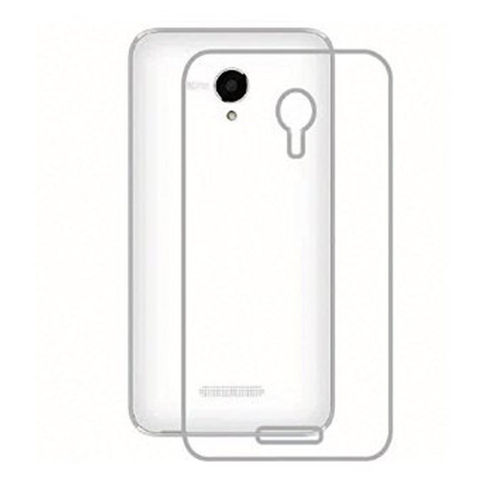 detailed look 7c032 389c8 Transparent Back Case for Panasonic Eluga S