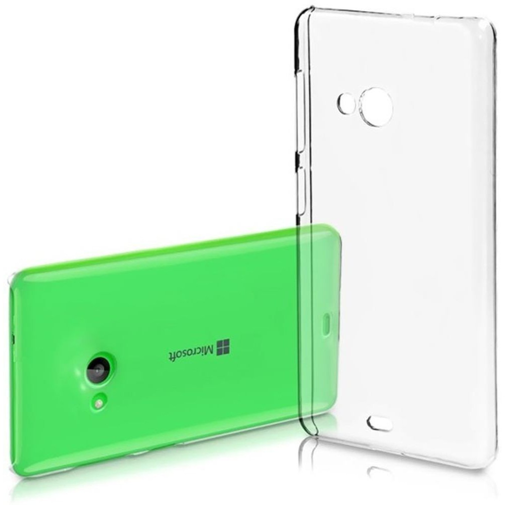 new styles 71956 4481c Transparent Back Case for Microsoft Lumia 540 Dual SIM
