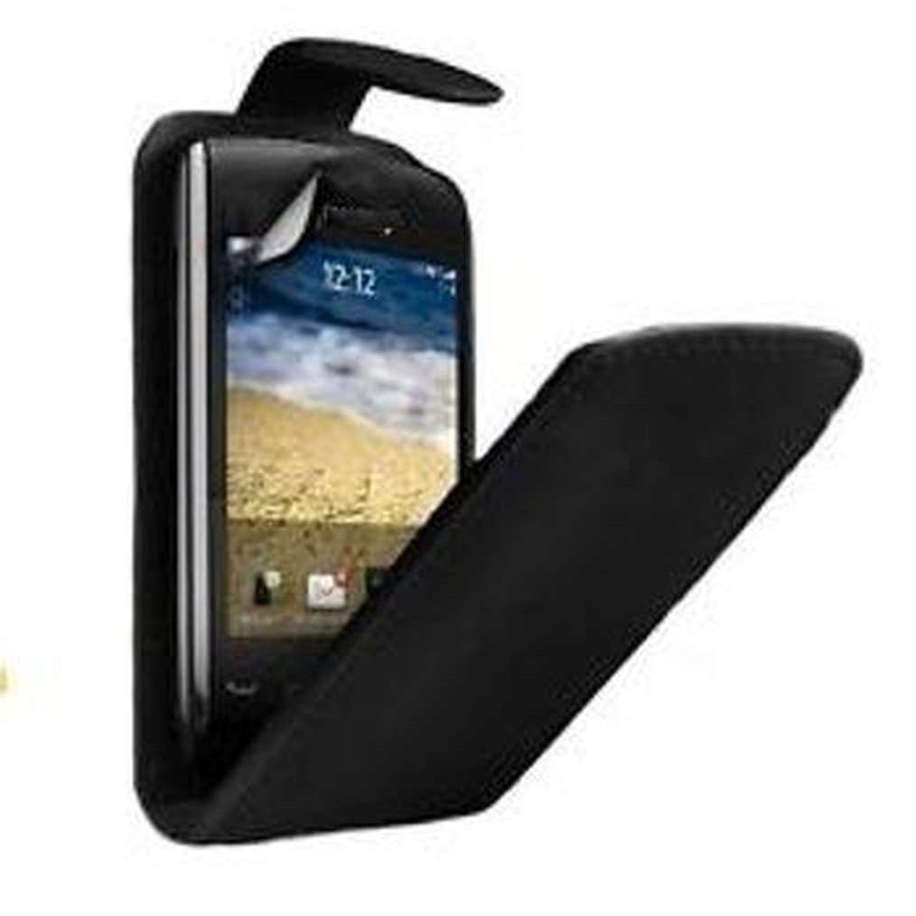 Flip Cover for BlackBerry Curve 9380 - Black