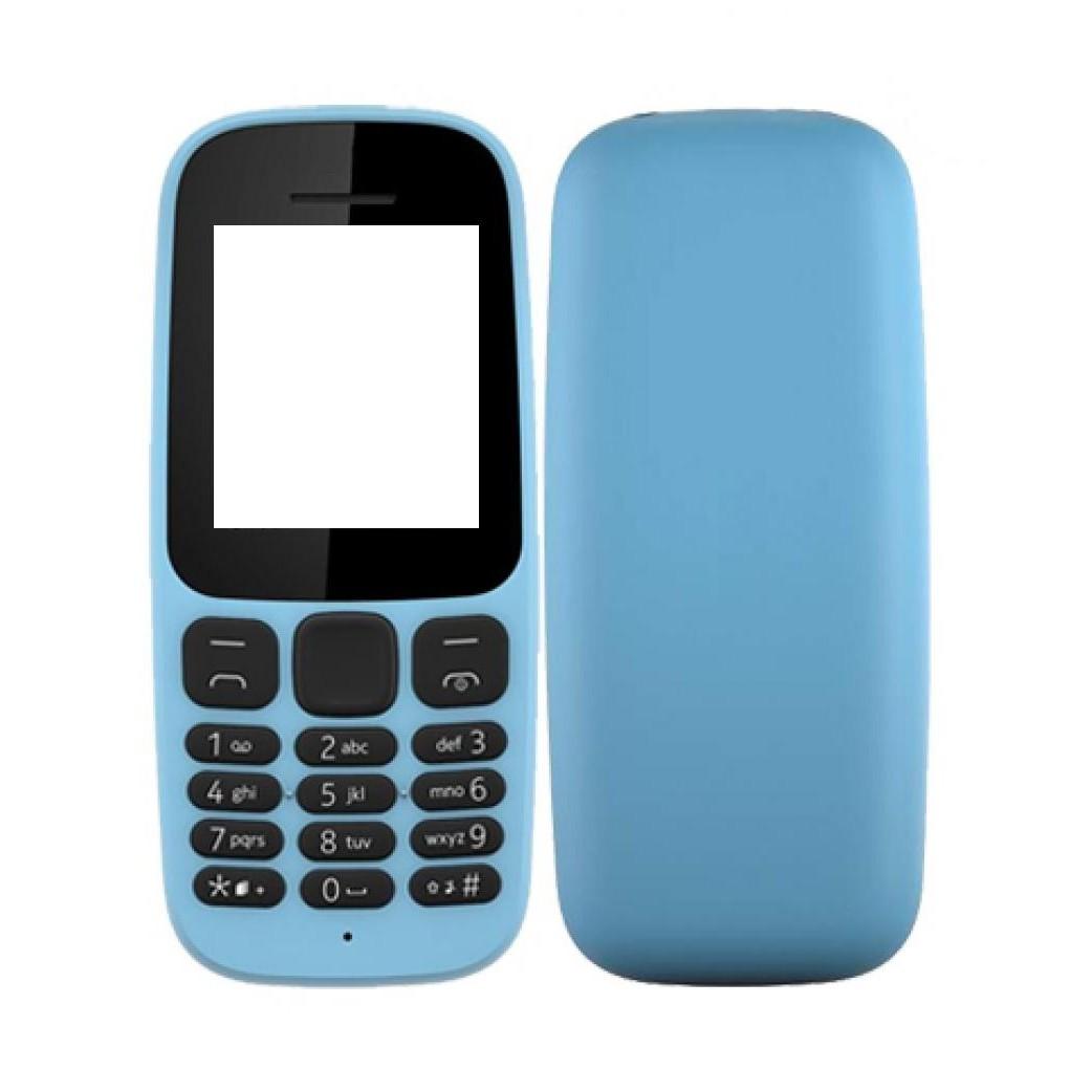 more photos f0e58 9a523 Full Body Housing for Nokia 105 2017 - Blue