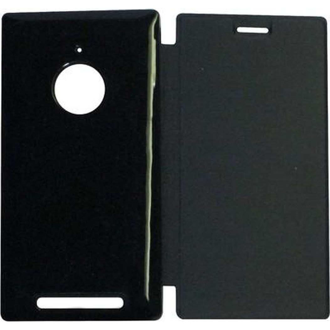 newest a71b4 87b86 Flip Cover for Nokia Lumia 830 - Black