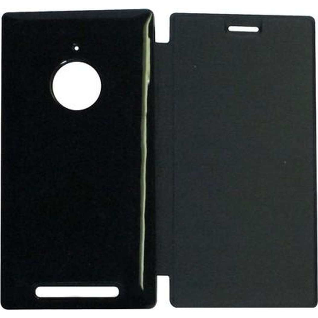 first rate 3ad80 41a12 Flip Cover for Nokia Lumia 830 RM-984 - Black