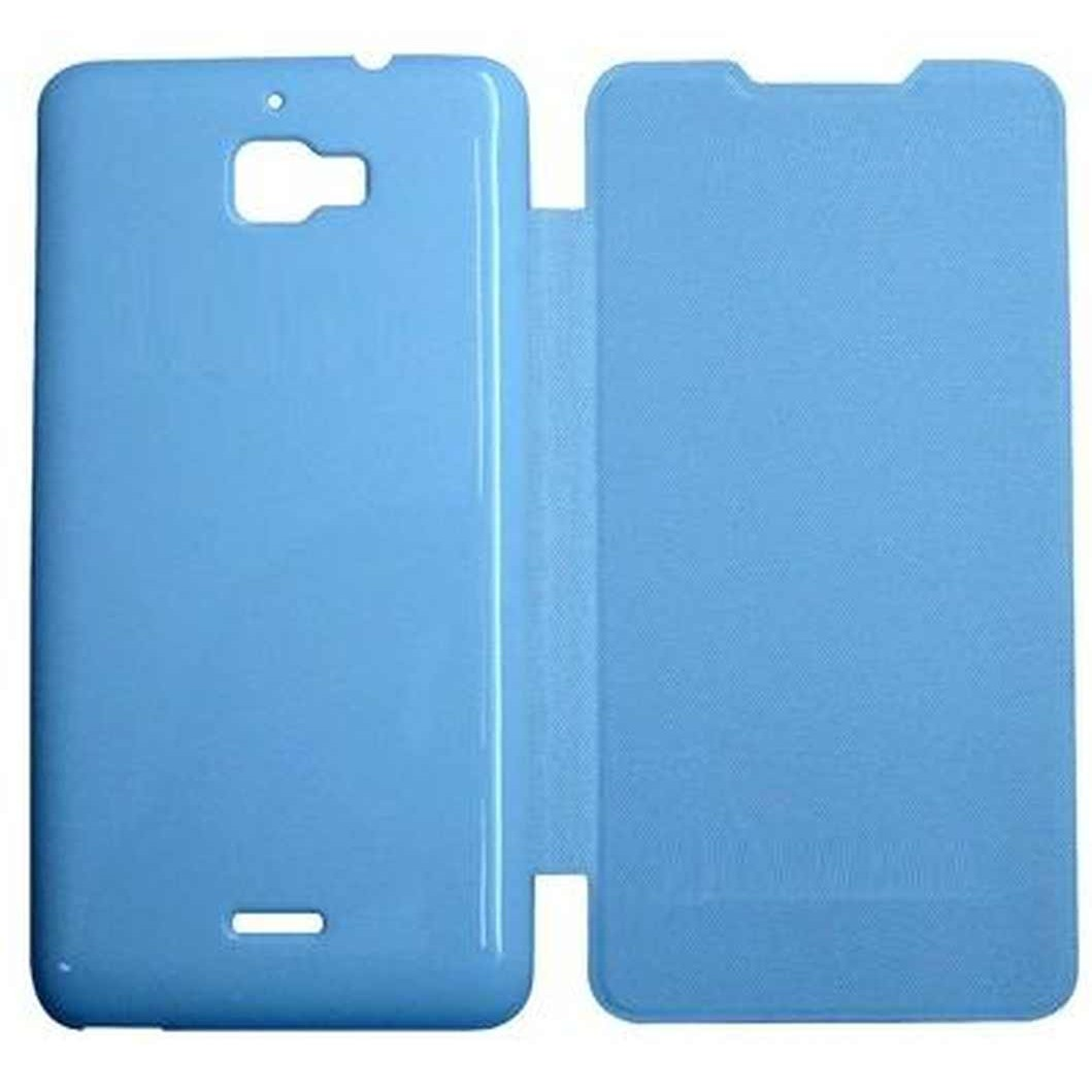lowest price eb282 d5ecf Flip Cover for Micromax Canvas Nitro A310 - Blue